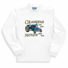 Family SWEATSHIRT Grandpas are just antique little boys Granddad Grandfather