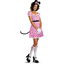 Disguise Minnie Mouse Sassy Adult Girl Halloween Fantasy Cute Dress Up Costume