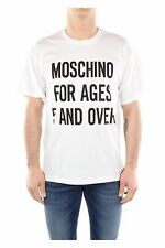 Moschino Couture Jeremy Scott 'Moschino For Ages 5 And Over' Cotton Tee-Shirt