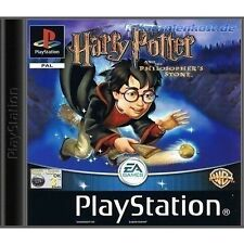 Harry Potter and the Philosophers Stone PS1 - Complete Disc, Case and Manual VGC