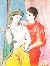 The Lovers-Picasso - - CANVAS OR PRINT WALL ART
