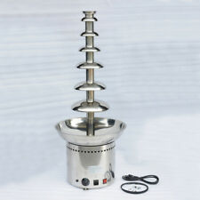 MT88 New Hot 7 Tiers Commercial Stainless Steel Luxury Chocolate Fondue Fountain