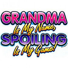 Grandma Spoiling My Game T Shirt All Sizes and Colors (86)