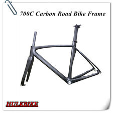 Full carbon Road bike  disc brake Frame with Fork and Seatpost