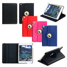 360 Rotating Smart Cover PU Leather Magnetic Case Stand for Apple iPad Mini 4