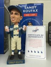 SANDY KOUFAX DODGERS BOBBLEHEAD SGA LIMITED EDITION /1955 SERIAL NUMBERED & CERT
