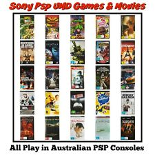 ●● UMD Games & Movies  - Sony PSP ●● NO HARD CASE - LOTS Added 23/07