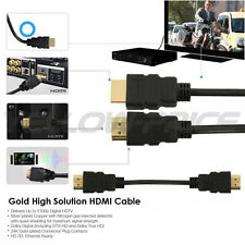 Premium High Speed Hdmi Cable 2m v1.4 Ethernet Ultra HD 3D ARC HEC Gold Plated