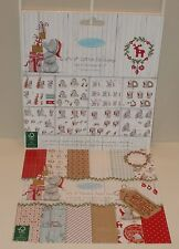 Me To You Tatty Teddy Christmas Die-Cut Decoupage & Premium Paper Sample Pack B