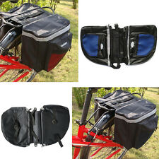 NEW Bike Rear Seat Tail Bag Bicycle Cycling Pannier Outdoor Rack Saddle Bag
