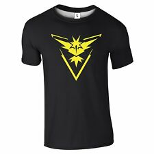 New Pokemon Go Team Valor Mystic Instinct Inspired ADULTS Sports Top Tee T-Shirt