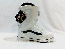 Vans Encore Snowboard Boots - White / Gray - BOA Binding system - Womans
