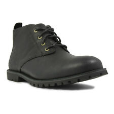 Bogs Men's Johnny Chukka Lace Up Waterproof Ankle Boots Black 71810-001