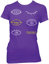 MAROON 5 - Eyes - Girlie T SHIRT top S-M-L-XL Brand New Official T Shirt
