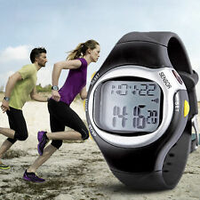 Heart Rate Pulse Monitor Calories Counter Fitness Wrist Watch Sports Running Run