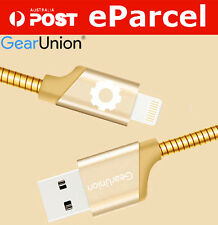 1M Metal BRAIDED LIGHTNING Sync Data USB Cable Charger IOS9 For iPhone 5 6S iPad