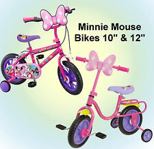 "Disney Minnie Mouse Bow-tique 10"" & Minnie Mouse Bow-tique 12"" Girls Bike"