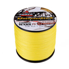 New PE Fishing Line Super 500m 6lb-60LB Strong  Braided line Spectra Yellow