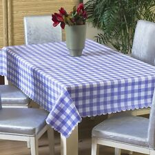 Wipe Clean PVC Vinyl Tablecloth Dining Kitchen Table Cover Protector137x60cm new