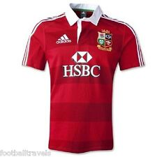 SMALL ADIDAS BRITISH LIONS SHORT SLEEVE RUGBY SHIRT Jersey Australia