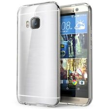Slim Clear TPU Case Cover + 9H Tempered Glass Screen Protector Film For HTC S005