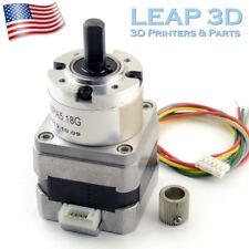 RepRap 3D Printer Extruder Geared 5:2 NEMA 17 Stepper Motor Kossel Mini Prusa i3