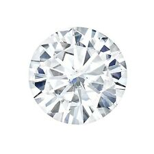 Certified Round Forever ONE Charles & Colvard Loose Moissanite Stone - 2.5 Carat