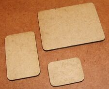 2mm MDF Flames of War Bases