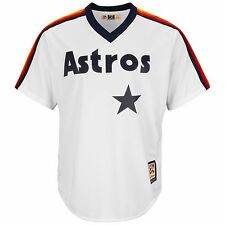 Majestic White Cooperstown Cool Base® Jersey - MLB Houston Astros