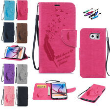 Luxury Cute Flip Leather Wallet Card Holder Stand Case Cover For Samsung Galaxy