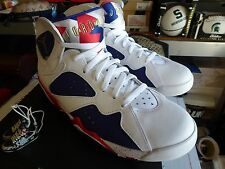 NIKE AIR JORDAN RETRO 7 OLYMPIC TINKER EDITION  BRED  BANNED