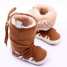 Winter Newborn Baby Warm Pre-walker Infant Boy Girl Soft Sole Shoes Boots