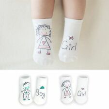 New Lovely Baby Boy Girl Cartoon Cotton Socks NewBorn Infant Toddler Socks 0-4Y