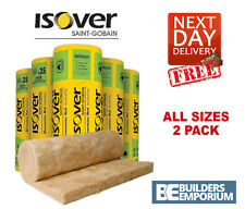 Isover X2 Loft Insulation Spacesaver Roll Glass Mineral 100, 150, 170, 200mm