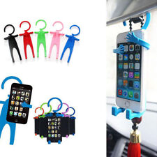 Funny Man Car Cell Phone Holder Universal Silicon Phone Stand Flexible Car Tools