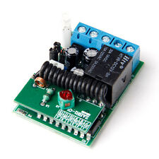 1Button 315/433MHZ Wireless Module Receiver Controller F Relay Remote Switch YG