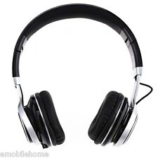 EP16 Adjustable 3.5mm Headset Folding Headphone Extra Bass Surround Stereo Mic