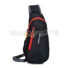 Outdoor Travel Cross Body Sling Shoulder Bag Camping Hiking Backpack Chest Pack