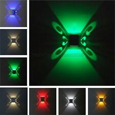 LED Butterfly Wall Sconces Lights for Home Hall Porch 1W/3W AC85V~265V 6 Colors