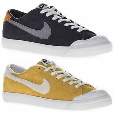 Nike Men's Zoom All Court CK Low Top Running Casual Sports Black Yellow Trainers