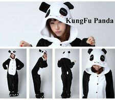 Adult  Unisex Kigurumi Pajamas Anime Cosplay Costume Panda Onesie Sleepwear HOT