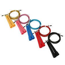 New Speed Wire Skipping Adjustable Jump Rope Fitness Exercise Cardio Sports 1Pcs