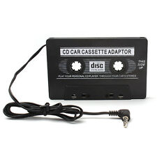 Audio AUX Car Cassette Tape Adapter Converter 3.5 MM for iPhone Samsung iPod MP3