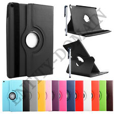 """Leather 360° Rotation Stand Case Cover Samsung Galaxy Tab 2 10.1"""" P5100-P5110"""