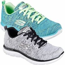 SKECHERS 2016 FLEX APPEAL 2.0 HIGH ENERGY MEMORY FOAM WOMENS WALKING SHOES