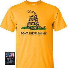 Gadsden and Culpeper, Dont Tread On Me Front Print T-Shirt