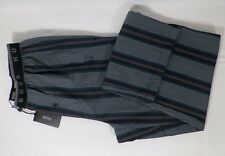 BOSS HUGO BOSS MENS STRIPED LOUNGE PJ SLEEPWEAR COTTON PANTS SZ S OR M -NWT