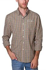 Shirt Yellow Green All Over Print Long Sleeve Button Down NEW Mens  PX