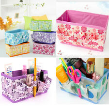 Folding Multifunction Makeup Cosmetic Storage Box Container Case Organizer Easy
