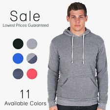 Alternative Apparel Challenger Eco Fleece Pullover Hoodie Soft Hoodlum 9595
